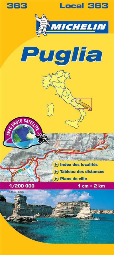 Carte Local Puglia Michelin
