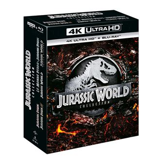 Jurassic ParkCoffret Jurassic World Collection L'intégrale Blu-ray 4K Ultra HD