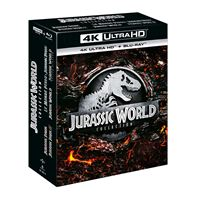 Coffret Jurassic World Collection L'intégrale Blu-ray 4K Ultra HD