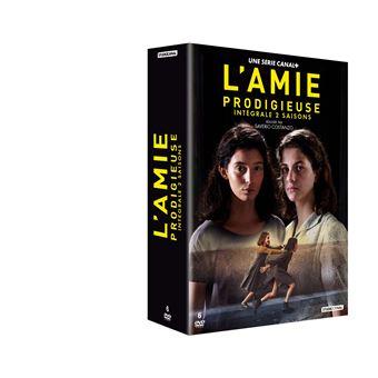 L'Amie prodigieuseCoffret L'Amie prodigieuse Saisons 1 et 2 DVD