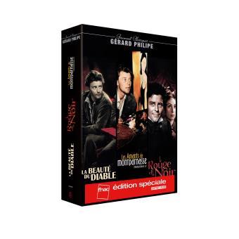 Coffret Gérard Philipe 3 films Edition spéciale Fnac DVD