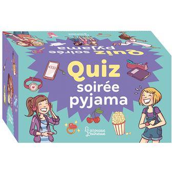 Le Quiz de ma soirée pyjama