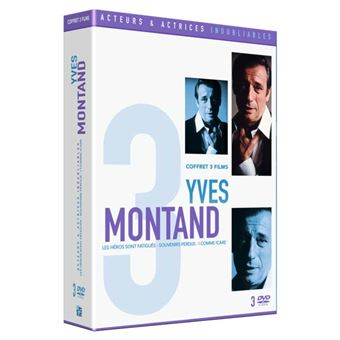 INOUBLIABLE YVES MONTAND-COFFRET  3 FILMS-FR