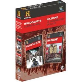 HOLOCAUSE-NAZISME-FR-2 DVD-USINE DU MAL-CONSPIRATION OCCULTE