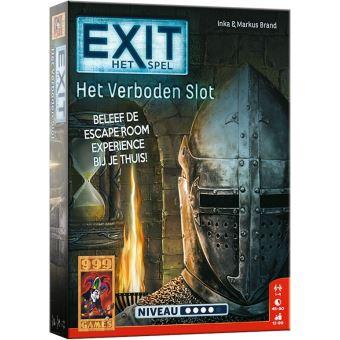 Exit het verboden slot escape room