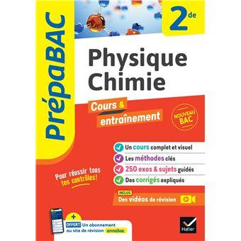 Physique-Chimie 2de - Prépabac Cours & entraînement Cours ...