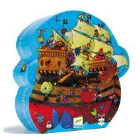 Djeco Le Bateau de Barberousse Puzzle 54 pcs