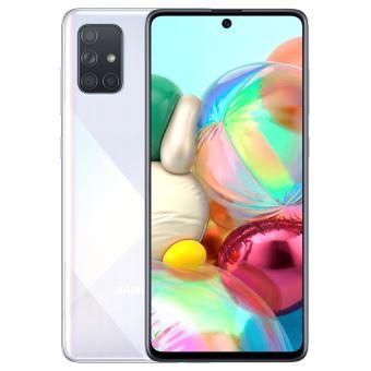 """Samsung Galaxy A71 Smartphone 128GB Silver 6.7"""""""