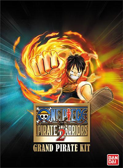 One Piece Grand Pirate Kit - Kit de réservation pour One Piece Pirate Warriors 2 PS3