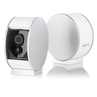 cam ra connect e de surveillance somfy myfox security camera domotique s curit achat. Black Bedroom Furniture Sets. Home Design Ideas