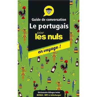 Guide de conversation Le portugais pour les Nuls en voyage !