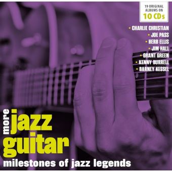 Milestones of jazz legends/more jazz guitar
