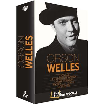 Coffret Orson Welles 6 films DVD