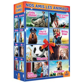 Coffret Nos amis les animaux 8 FilmsDVD