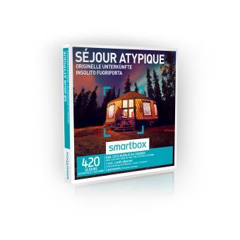 Coffret cadeau Smartbox Séjour atypique