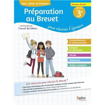 Mon Cahier De Francais 3eme Cycle 4