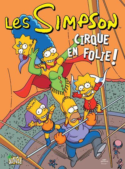 Les Simpson - tome 11 Cirque en folie !