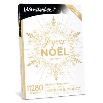 977c6aa0b1d18 Coffret cadeau Wonderbox Joyeux Noël Sensation - Coffret cadeau ...