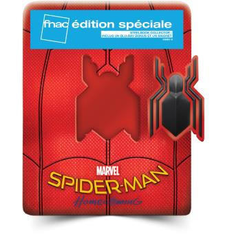 Spider-ManSpider-Man Homecoming Edition Spéciale Fnac Steelbook Blu-ray