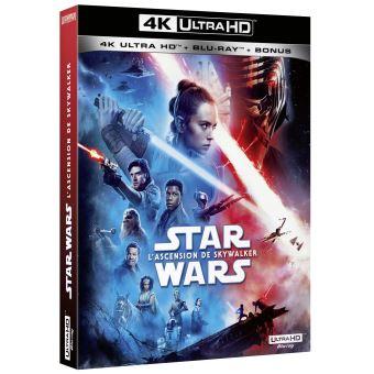 Star WarsStar Wars L'Ascension de Skywalker Blu-ray 4K Ultra HD