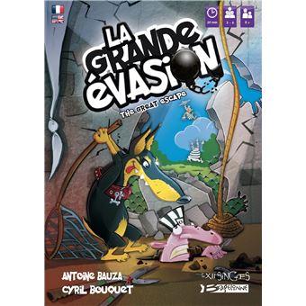 """Résultat de recherche d'images pour """"La Grande Évasion bragelonne games"""""""