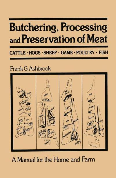 Butchering, processing and preservation of meat