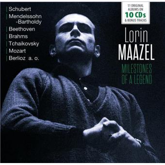 LORIN MAAZEL: MILESTONES OF A LEGEND - 11 ORIGINAL/10CD