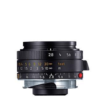 Objectif hybride Leica Elmarit M 28 mm F/2.8 ASPH. Noir