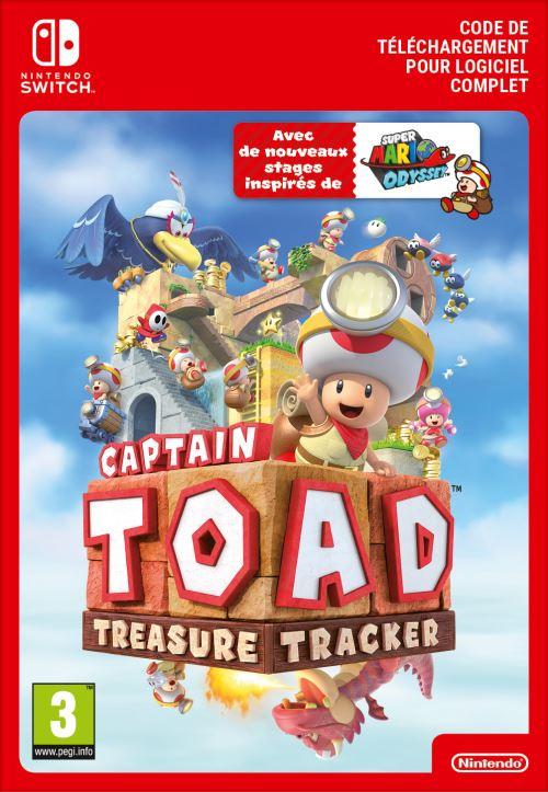 Code de téléchargement Captain Toad Treasure Tracker Nintendo Switch