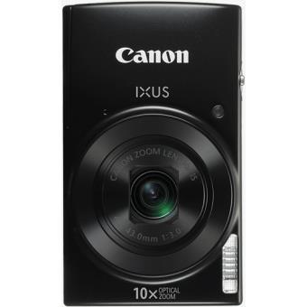 Canon IXUS 190 - Digitale camera - compact - 20.0 MP - 720p / 25 beelden per seconde - 10x optische zoom - Wi-Fi, NFC - zwart