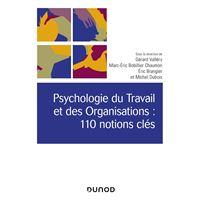 Psychologie du Travail et des Organisations : 110 notions clés