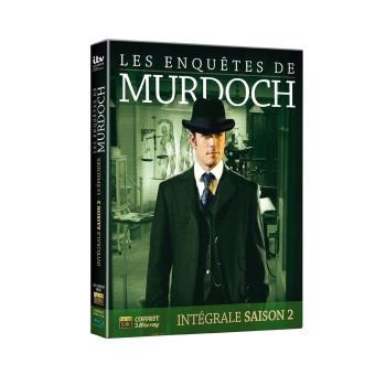 Les Enquêtes de MurdochCoffret intégral de la Saison 2 - 4 Blu Ray