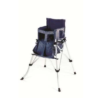 Chaise haute nomade baby to love bleu marine produits - Chaise nomade baby to love ...