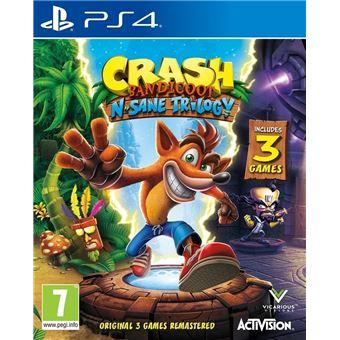 CRASH BANDICOOT N.SANE TRILOGY UK PS4