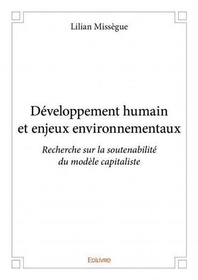 Developpement humain et enjeux environnementaux