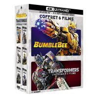 Coffret Transformers L'intégrale des 5 films et Bumblebee Blu-ray 4K Ultra HD