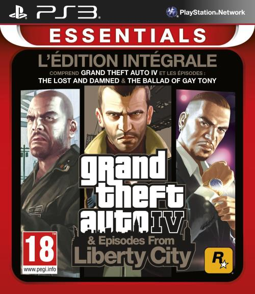 GTA IV Essentials PS 3