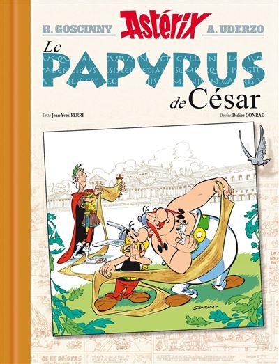 Astérix - Edition Luxe Tome 36 : Le papyrus de cesar - v luxe
