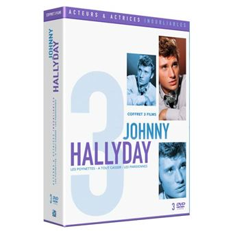 Coffret Inoubliable Johnny Hallyday DVD