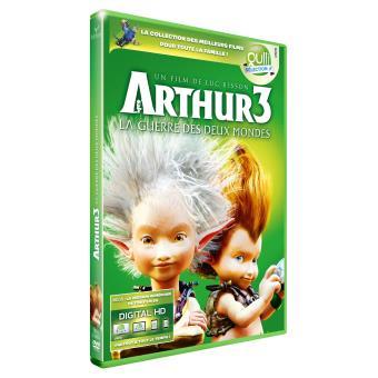 Arthur 3 La Guerre des Deux Mondes DVD