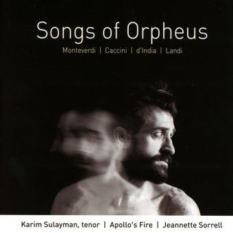 Songs of Orpheus Musique vocale baroque italienne