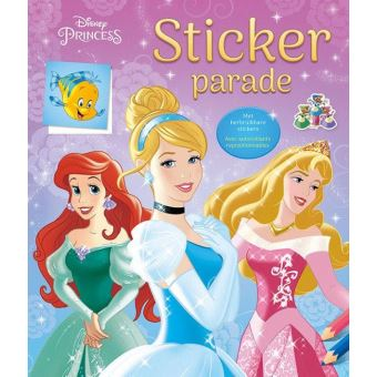 DISNEY STICKER PARADE PRINCESS