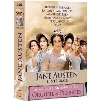 Orgueil et préjugésJane Austen Intégrale Coffret DVD