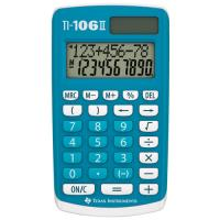 Calculatrice Texas Instruments TI 106 II, Solaire & Batterie