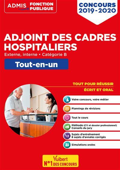 Concours Adjoint des cadres hospitaliers - Tout-en-un