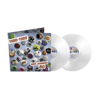 Mes Années 80 Double Vinyle blanc Exclusivité Fnac