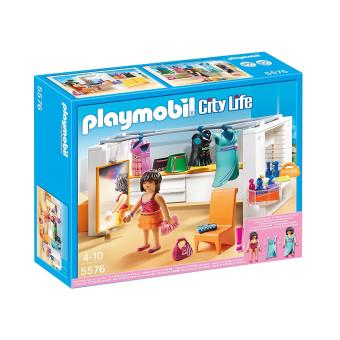 playmobil city life 5576 dressing playmobil achat. Black Bedroom Furniture Sets. Home Design Ideas