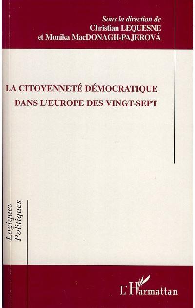 La citoyenneté démocratique dans l'Europe des vingt-sept