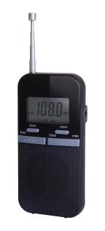 BRND Baladeur radio Brandt BR100D Noir