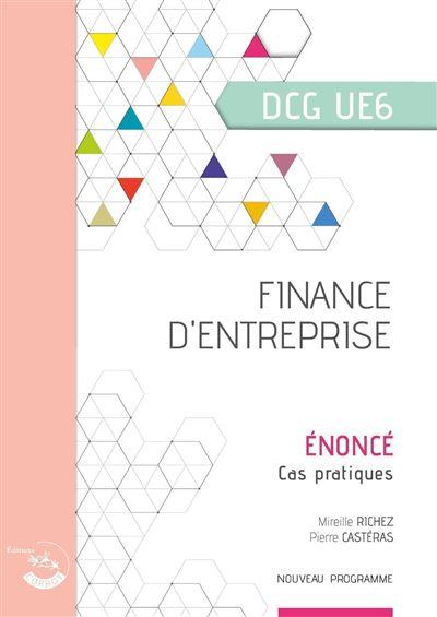 Finance d entreprise enonce